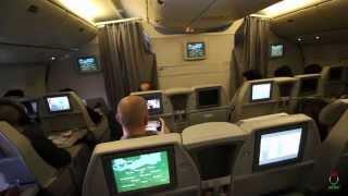 Alitalia 777-200 Tokyo NRT to Milan MXP Classica Plus