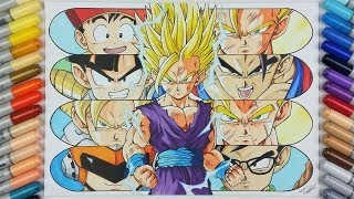 Drawing the Evolution of Gohan! | TolgArt