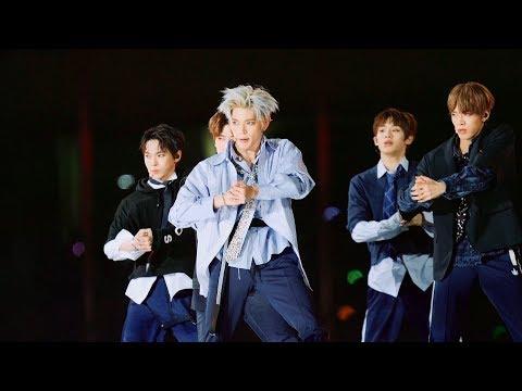 NCT 127 (엔시티 127 )- 'Cherry Bomb' @171022 BOF 원아시아 개막식[4k Fancam/직캠