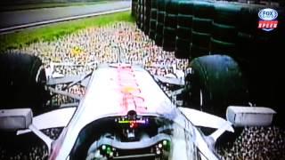Bob Varsha say good bye from SPEED F1 team in Brazil Grand Prix (11/25/2012)