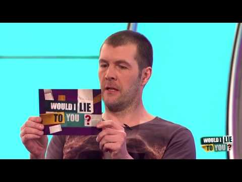 Rhod Gilbert and escalators - Would I Lie to You? [CC]