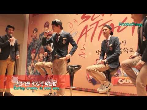 HD[ENGSUB] EXO-K Crunky School Attack