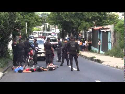 Capturan a cuatro pandilleros por robo en San Salvador