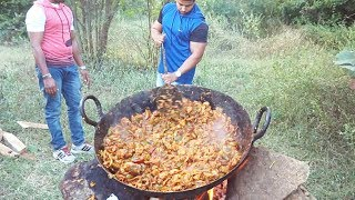 DELICIOUS FRIED CHICKEN || BIG SIZE COOKING FOR LOT OF PEOPLE