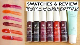 REVIEW JUJUR + SWATCHES LENGKAP Emina Magic Potion | Lip Tint Erasenya WAJIB PUNYA???