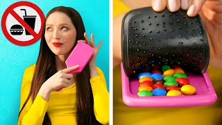 HOW TO SNEAK FOOD ANYWHERE    Funny Situations And Food Tricks Into School, Movies And Airport