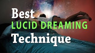 BEST Lucid Dreaming Technique | This Actually Works!