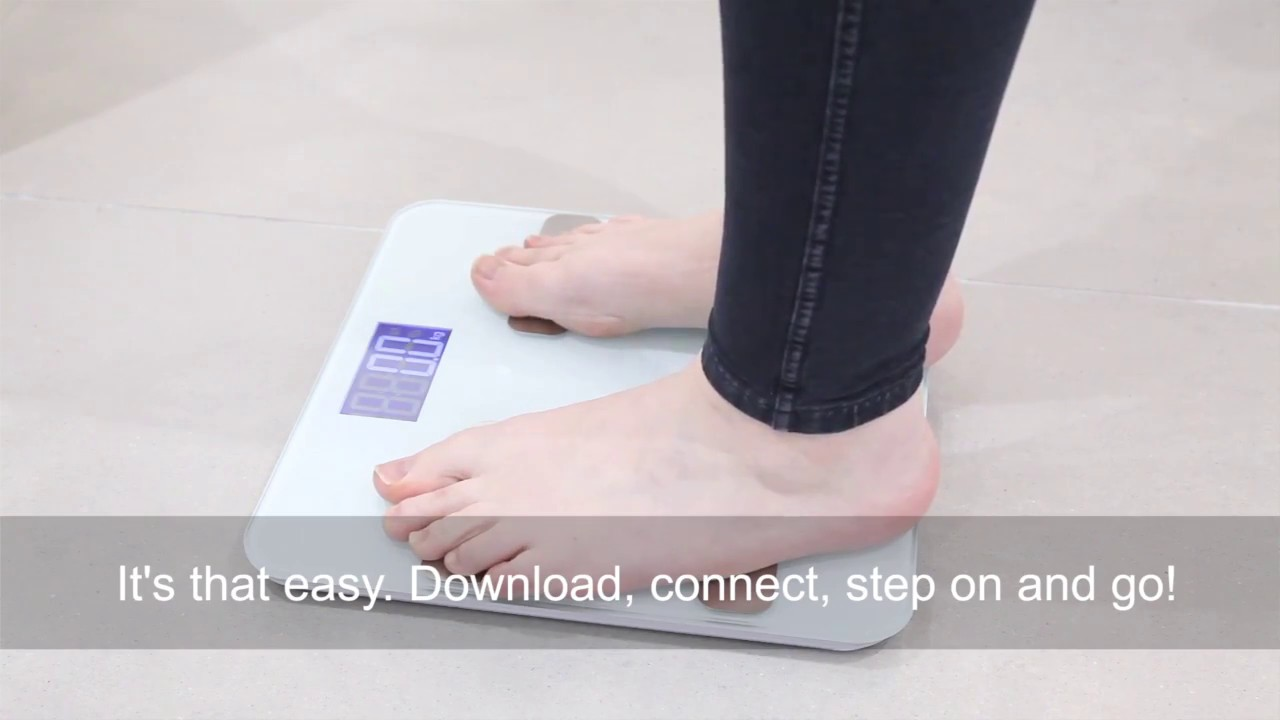 how it works healthy body tracker scales