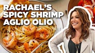 How to Make Rachael's Spicy Shrimp Aglio Olio | Food Network