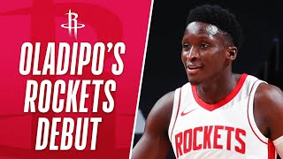 Victor Oladipo Goes For 32 PTS, 5 REB, 9 AST & 2 STL In Rockets DEBUT!