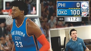 IS IT POSSIBLE TO WIN A GAME 100-0? NBA 2K17 CHALLENGE