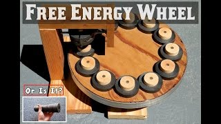 FREE ENERGY WHEEL ~ Using Ring Magnets ~ EXPOSED!