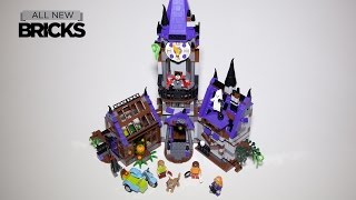 Lego Scooby-Doo 75904 Mystery Mansion Speed Build