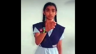 A class 9 student devises a smart-band to alert people whe..