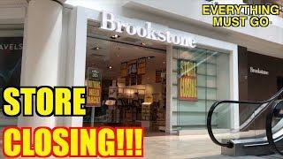 STORE CLOSING!!! BROOKSTONE