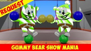 Happy Maroon Day (Mirror & Green Candy Cane Gummy Bear) Special Request - Gummy Bear Show MANIA