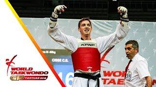 Taoyuan 2018 World Taekwondo GP-Final [male –80kg] Cheick Sallah CISSE(CIV) vs Maksim KHRAMTCOV(RUS)