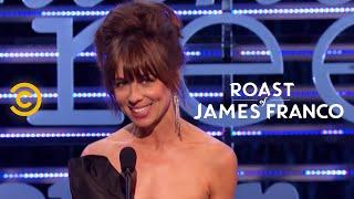 Roast of James Franco - Natasha Leggero - Aziz and James's Great Career Choices - Uncensored