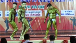 Giải vô địch thể hình tỉnh Kiên Giang năm 2016 (30/04/2016) P2