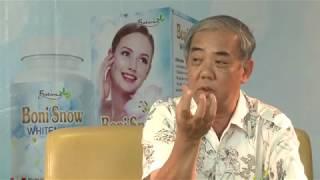 BSCKII Nguyễn Thành và PGs.Ts Trần Quốc Bình tư vấn làm trắng da, trị mụn và sp BoniSnow