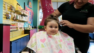 BABY'S FIRST HAIRCUT!!!