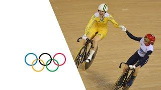 Cycling Track Women's Sprint Final GBR v AUS Full Replay   London 2012 Olympics