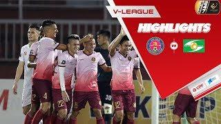 Highlight Sài Gòn 2-2 SLNA   Gay cấn trong khoảnh khắc   VPF Media