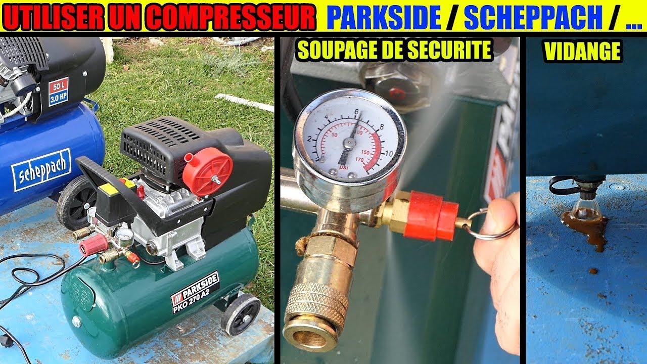 Compresseur Parkside Lidl Quoi De Neuf Pko 270 B4 Whats