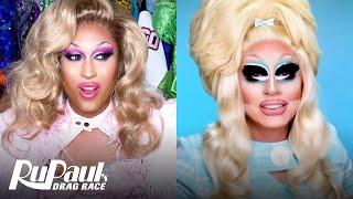 The Pit Stop S13 E3 | Trixie Mattel & Priyanka Go Off On 'Phenomenon' | RuPaul's Drag Race