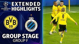 Dortmund vs. Club Brugge: Extended Highlights | UCL on CBS Sports
