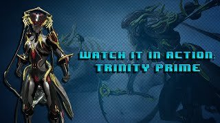 Warframe Watch it in Action: Trinity Energy Vampire/Blessing Build