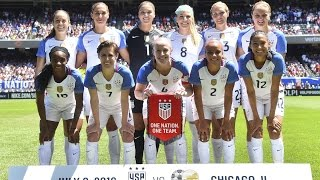 WNT vs. South Africa: Highlights - July 9, 2016