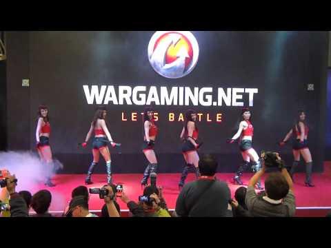 20140126 開場舞 17:00舞台活動 小安 戰車世界攤位 2014台北電玩展