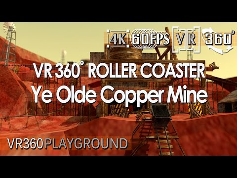 VR 360? Roller Coaster - Ye Olde Copper Mine by VR360 Playground