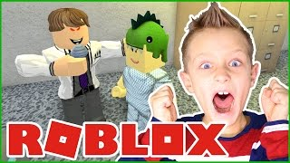 Frustration in the OBBY / Escape the EVIL HOSPITAL in Roblox!