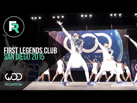 First Legends Club | 3rd Place Upper Division | FRONTROW | World of Dance San Diego 2015 | #WODSD15