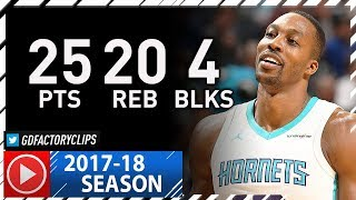 Dwight Howard Full Highlights vs Timberwolves (2017.11.20) - 25 Pts, 20 Reb, 4 Blocks!