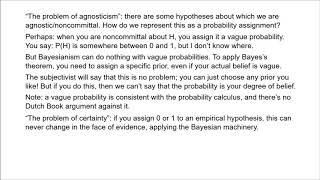 Philosophy of Science 16 - Bayesian Epistemology 2