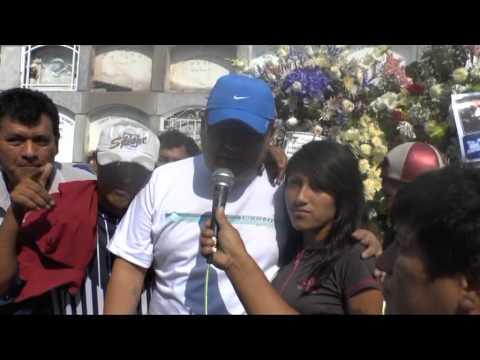 CHACALON JUNIOR - EL CUMPLEAÑO DE CHACALON EN EL CEMENTERIO EL ANGEL