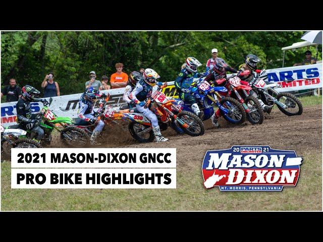 Résumé GNCC USA 2021 - RD8 - Mason Dixon
