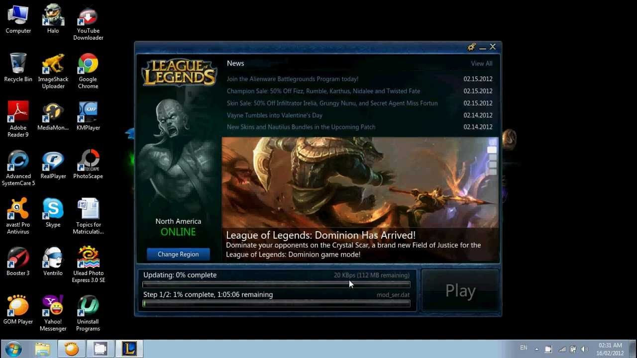 League of legends download Patch fast [HELP!] - YouTube