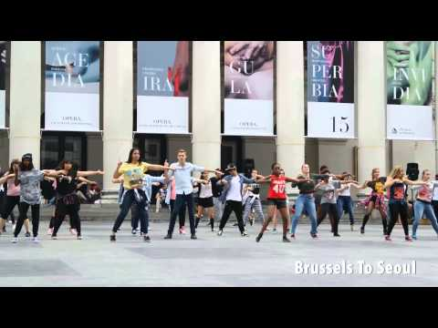 KPOP Flashmob Dance Cover - SNSD, Super Junior, T-ara and more