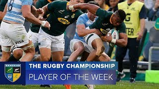 PLAYER OF THE WEEK: 2018 Rugby Championship Week 1
