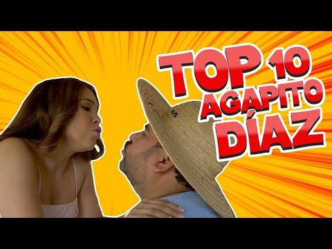 Los 10 videos más vistos de Agapito Díaz 2019