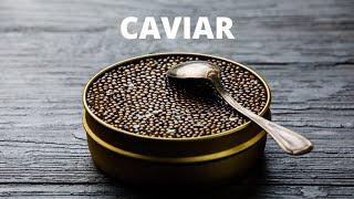 THE PERFECT CAVIAR BITE