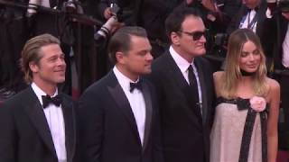 Once Upon A Time In Hollywood: Cannes Red Carpet Movie Premiere