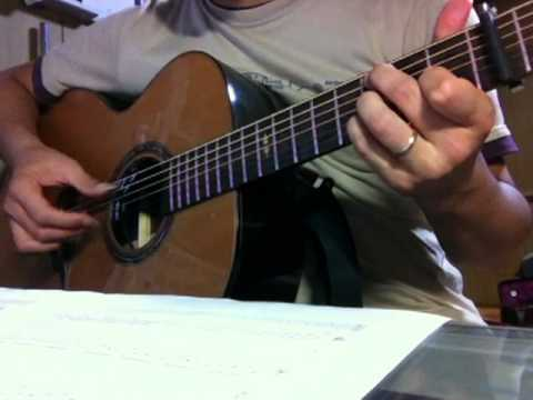 【solo guitar】 「Summer」 Joe Hisaishi【TAB available】久石譲