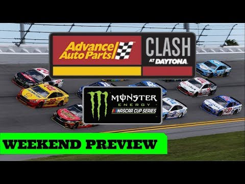 NASCAR Cup: Advance Auto Parts Clash Exhibition Race