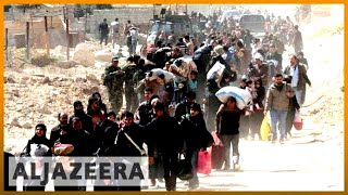 🇸🇾 Reports: Syrians fleeing Ghouta arrested by government | Al Jazeera English