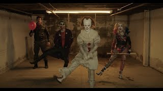 JOKER vs NEGAN Dance off (featuring HARLEY QUINN and PENNYWISE)